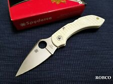Spyderco Dragonfly White C28PWH - Discontinued - NASA Tom Sachs - RARE