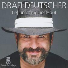 DRAFI DEUTSCHER - TIEF UNTER MEINER HAUT-Die großen Erfolge  2 CD NEU