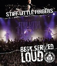 Stiff Little Fingers-best served Loud-LIVE AT BARROWLAND Blu-ray NEW