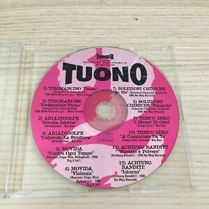 Vari - Tuono 2 - CD PROMO 12 Tracce_1995 Thunder Italy _ Tiromancino Ariadigolpe