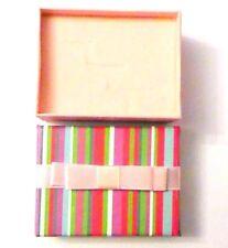 30 PINK Stripe Lid Luxury Jewellery Pendant Earrings Gift Boxes 6 x 4.5 x 2.5cm