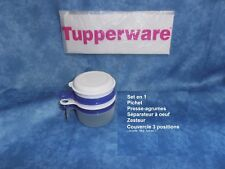 TUPPERWARE Set en 1 Pichet Couvercle Zesteur  Séparateur à Oeuf  Presse Agrumes