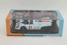 "Spark 1/43 Porsche 917K Checker Flag ""Movie Le Mans""#21 Steve McQueen Collection"
