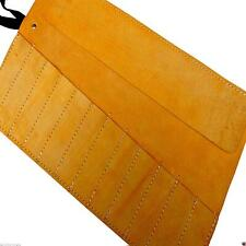 Chisel Leather Tool Roll Leather Hide Genuine Leather 12 Pocket