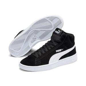 Puma Smash v2 Mid Jr Damen Sneaker Schuhe Retro Mid Cut