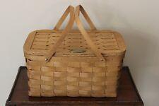 Land Range Rover Wooden Woven Picnic Hamper / Basket Accessory