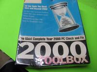 McAFEE 2000 TOOBOX PC SOFTWARE - SEALED, COMPLETE