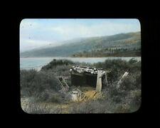 Lantern Slide Indian Burial Ground Memaloose Island Columbia Rvr 1898 R. Gifford