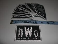5 Vintage '98 NWO NEW WORLD ORDER Wrestling clothing Patch Lot WCW WWE WWF Hulk