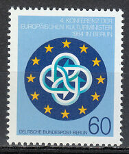 Germany West Berlin 1984 MNH Mi 721 Sc 493 Europa European ministers of culture