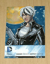 2012 Cryptozoic DC New 52 Comic Lynne Anderson sketch card 1/1