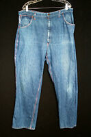 VINTAGE 1970'S BIG MAC BLUE COTTON DENIM PANTS SIZE 40 WAIST