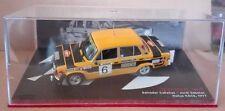 """DIE CAST """" SEAT 124 FL 1800 RALLYE RACE - 1977 """" SCALA 1/43"""
