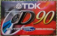 TDK D90 Audio Cassette (Type 1)
