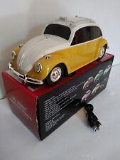 Mini Car Speaker BT Mini Buggy  Light Up multicolors Speaker white/Yellow