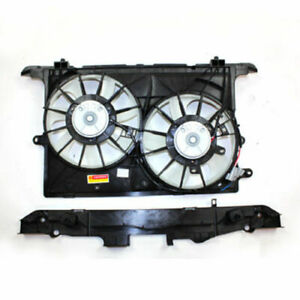 Dual Radiator & Condenser Fan Assembly For 2008-2013 Scion xB
