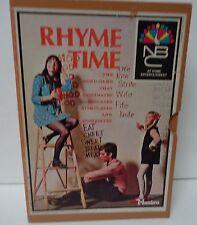 Vintage 1969 Game Rhyme Time NBC Home Entertainment Hasbro