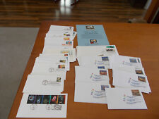 First Day Issue Misc Lot/65 Pcs Science Natur Stamp Collect Benefits Pet Rescue