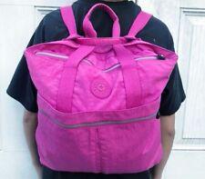 Rare Kipling Convertible Backpack Shoulder Bag Travel Tote
