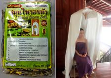 Thai Traditional Aromatic Herbal Sauna Steam Bath Therapy Postnatal Treatment