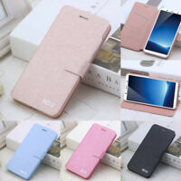Magnetic Case For iPhone 6S 7 8 Plus XR XS Max SE Card Slot Flip Leather Cover