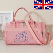 UK Stock New Kids Girls Pink BALLET Shoes Bag Handbag Dancing Bag Shoulder bag