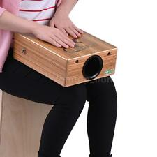 GECKO Traveling Cajon Box Drum Hand Drum Wood with Strap Carrying Bag T1M4