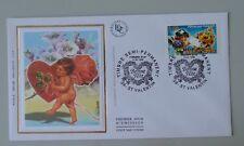 France FDC 1er jour 3133 31 janvier 1998 timbre semi-permanent st valentin