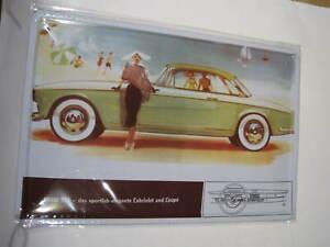 REF 024 Cartel Placa Metal 20X30CM 150gr - Bmw 503 cochesaescala