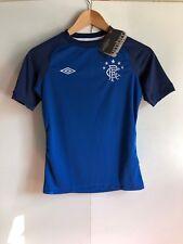 Umbro Rangers FC Football Kid's Training Jersey - 9-10 Years - Blue - New