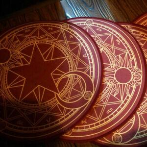 Cardcaptor Sakura Magic Circle Carpet Mat Home Decor Area Rugs Round Carpet New