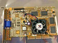 RARE VINTAGE ASUS V6600 PURE NVIDIA GEFORCE 256 AGP 32 MEG VGA CARD OEM DIRECT