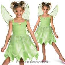 Tinker Bell Tinkerbell Tink and Fairies Rescue Disney Girls Costume S 4 - 6