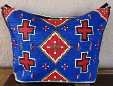 Canvas Stencil Purse HIPC-155 Southwest Southwestern Design Sturdy Cotton Bag