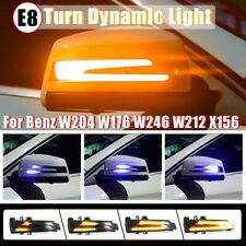 2x Dynamische LED Spiegel Blinker Außenspiegel für Mercedes W204 W212 W221 W246