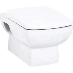 Wall Hung Pan Soft Close Seat White Ceramic Cosy Toilet Wc Pan