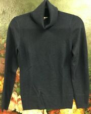 J. Crew sweater women size small Wool Cashmere Navy