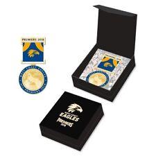 West Coast Eagles AFL Premiers 2018 Medal Badge with Ribbon