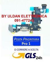 CONNETTORE RICARICA Per Apple iPhone 6s Plus Dock Microfono Antenna Nero CARICA