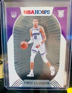2020-21 NBA HOOPS TYRESE HALLIBURTON BASE ROOKIE RC KINGS