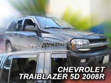 HEKO Windabweiser CHEVROLET Trailblazer 2002-2009 5-türig 4teilig 10541
