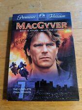 MacGyver: The Complete Seventh Season (The Final Season) [Dvd] Good Condition