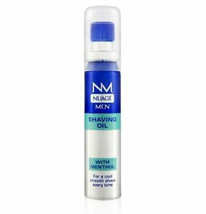 Nuage Men Shaving Oil With Menthol 25ml, Cool Fresh & Smooth Shave