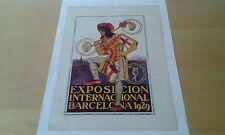 Usado - Anuncio publicitario EXPOSICIÓN INTERNACIONAL BARCELONA 1929 -