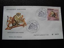 GABON - enveloppe 1er jour 20/3/1974 (B1) stamp