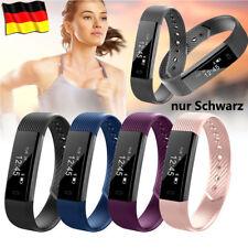 Bluetooth Smart Armband Sport Fitness Uhr Schrittzähler Kalorienzähler Pulsuhr