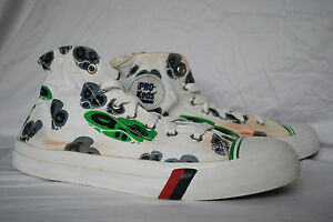 2000's Mulit- Color Pro- Keds, High Top Sneaker, Men's size 11.5, Used