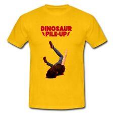 DINOSAUR PILE-UP English alternative rock band Yellow T-shirt Tee S M L XL 2XL