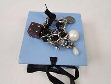 LANVIN cristal Swarovski et perles nacre bracelet avec boite authentique