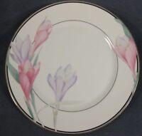 Mikasa Shasta LAB01 Dinner Plates (M2) Pink and Purple Flowers